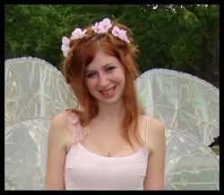 Beautiful Fairy with Crown