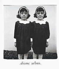 Diane Arbus: The Twins, A Signature