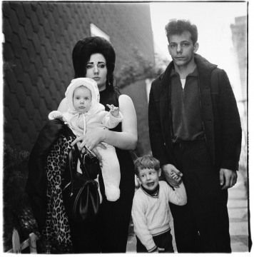 Diane Arbus: Young Family, One of My Favorites