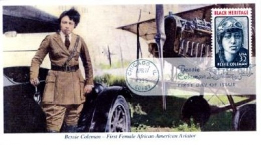 Bessie Coleman Honored With a Stamp