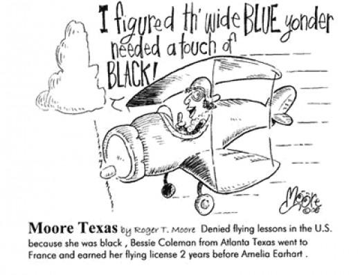 Bessie Coleman Colors the Skies