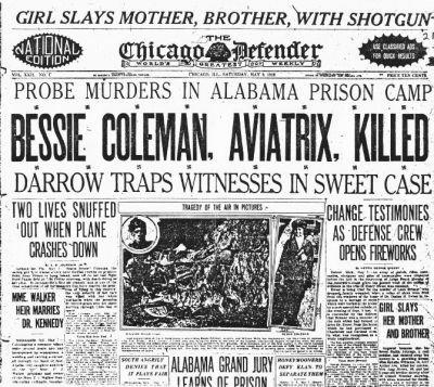 Bessie Coleman's Last Risk