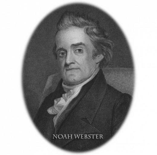 Noah Webster in 1859