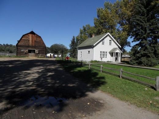 The Mellon Farm and homestead