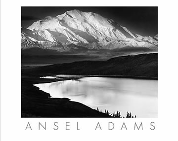 Ansel Adams Snow Mountain