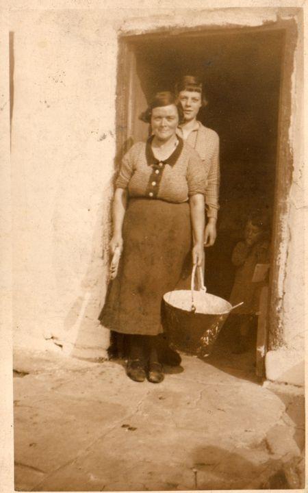Grandmother and Christine