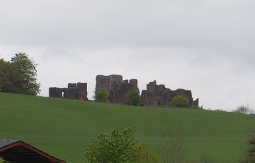 A little bit closer, the castle is worth a visit as well. Not strictly the Forest of Dean but close enough.
