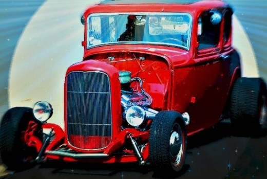 Little Deuce Coupe Zazzle Image: M Burgess