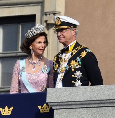 Wedding of Royals King Carl XVI Gustaf and Queen Silvia of Sweden