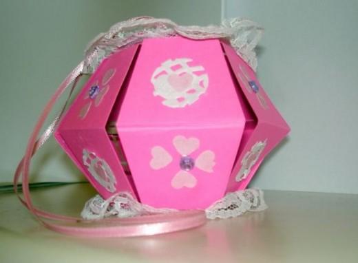 Valentine Photo Cube