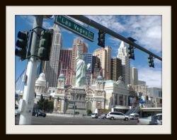 Las Vegas Strip Sign ~ Image: M Burgess