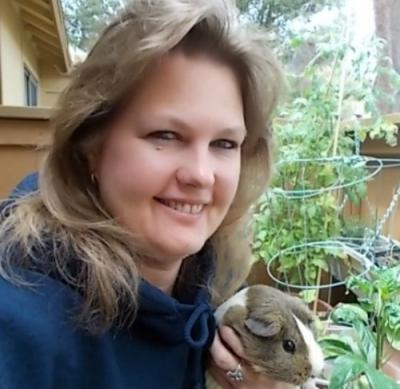 My Patio Garden And Piggie
