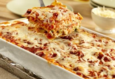 Garden Vegetable Lasagna with Broccoli