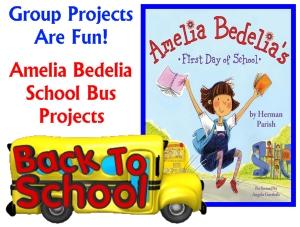 http://www.uniqueteachingresources.com/Amelia-Bedelia-First-Day-of-School-Lesson-Plans.html
