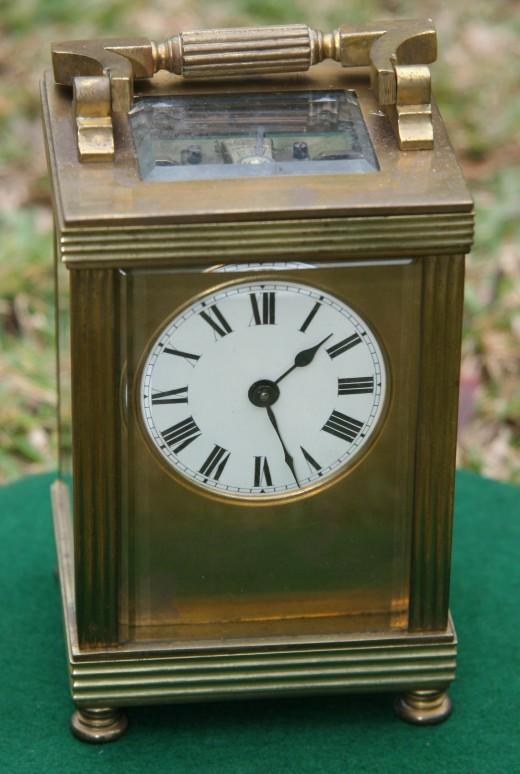 James especially love old, forgotten clocks