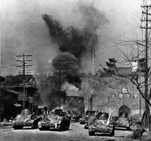 There was no stopping the Japanese and Chiang Kai-Shek made a wrong decision.