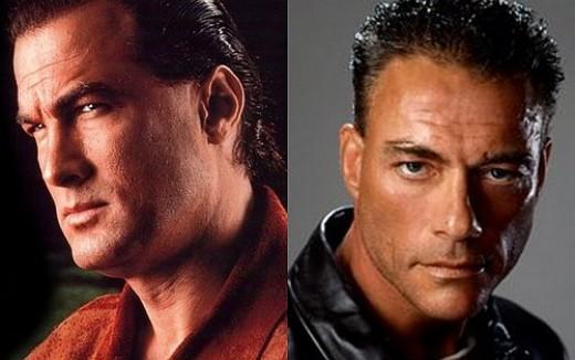 Van Damme vs Seagal
