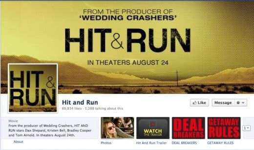 Hit and Run Facebook Page