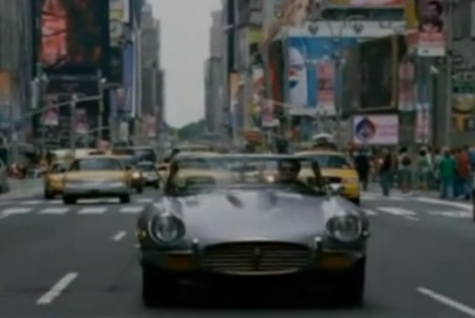 Patrick Dempsey Drives Jaguary in Made of Honor Car Scene