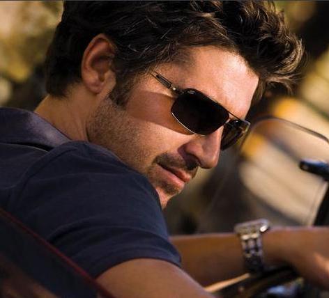 Patrick Dempsey For Serengeti Sunglasses