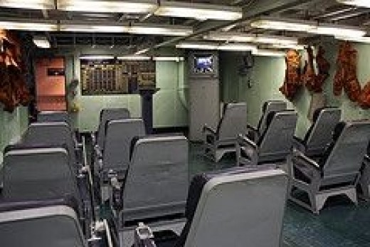 USS Yorktown Ready Room