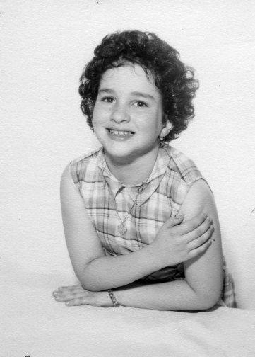 A young Sotomayor, age 6 or 7
