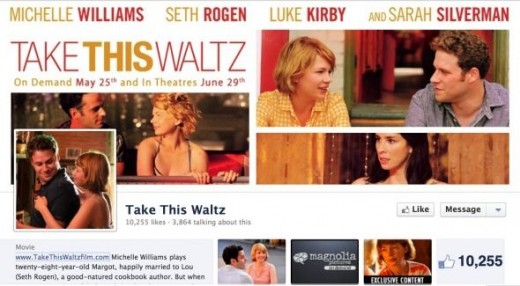Take This Waltz Facebook Page
