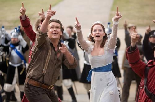 Jason Segel Emily Blunt Gullivers Travels