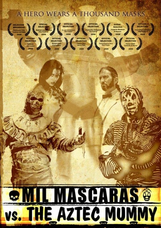 Mil Mascaras vs. the Aztec Mummy (2007)