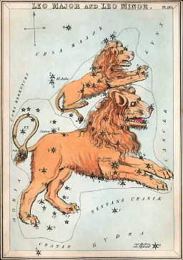 From a set of constellation cards published in London c. 1825.