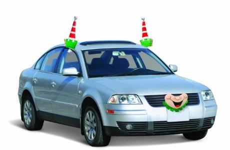 Christmas Elf Car Costume