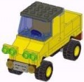Yellow LEGO truck - click for instructions!