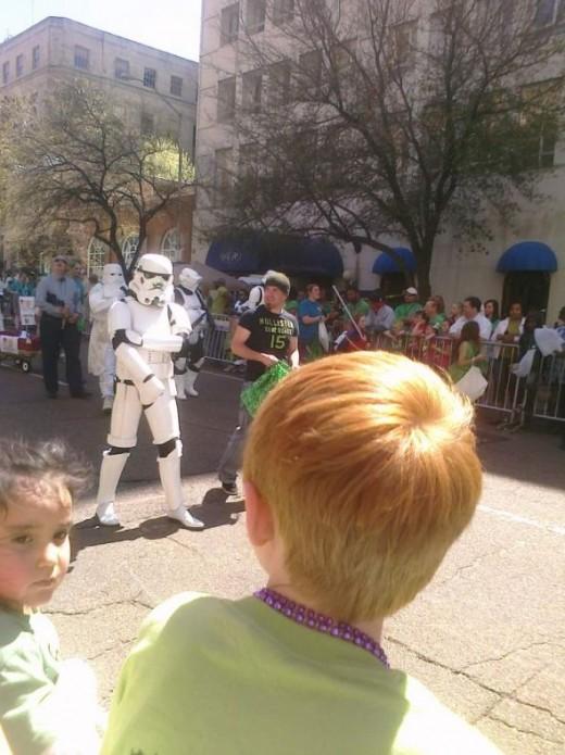 Stormtrooper!  H&M's 2013