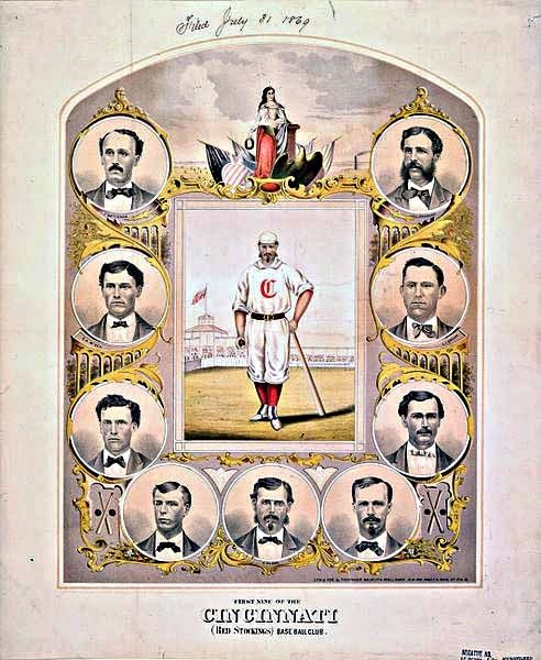 1869 Cincinnati Red Stockings