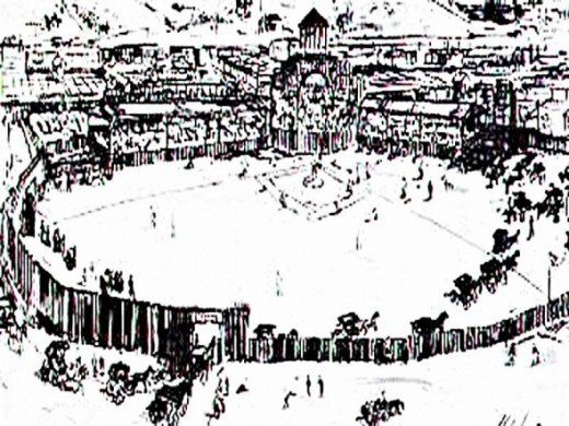 Avenue Grounds  - 1876-1879 (Only known depiction)