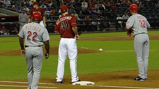 Jay Bruce Reaches First