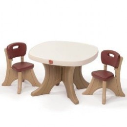 Step2 New Traditions Table and Chair Set for Babies and Toddlers - Buy Here at Amazon