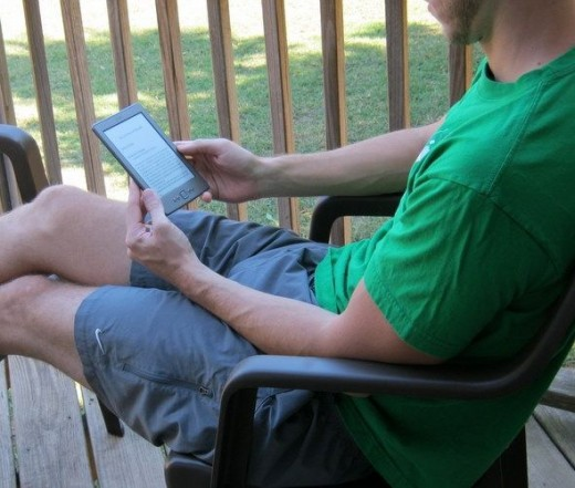 I'm thrilled to have a family who loves reading, especially on their Kindle e-readers!