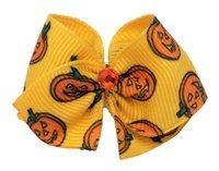 Puppy Kisses Pumpkin Dog Hair Bow - Buy it Here at Amazon!