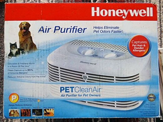 Honeywell Pet Air Purifier with Permanent Air Filter