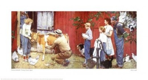 a Norman Rockwell painting