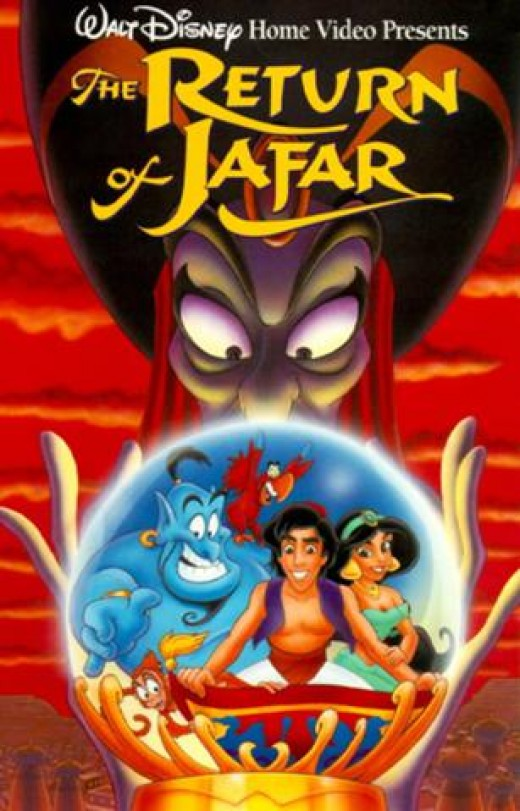 VHS Cover of The Return of Jafar