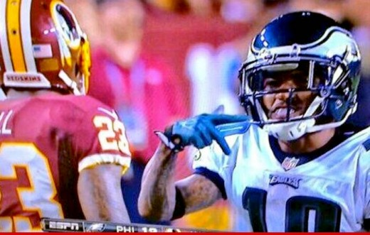Former Eagle / Current Washington Redskin WR DeSean Jackson