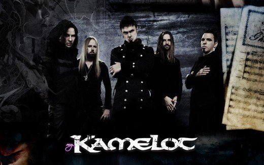 Kamelot with Roy Khan as a vocalist