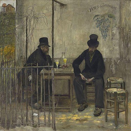 The Absinthe Drinkers - Jean-François Raffaëlli
