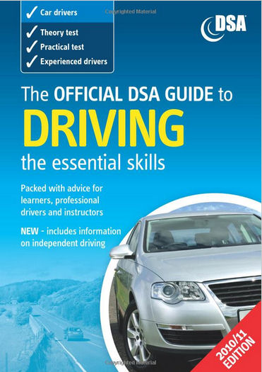 The Official DVSA Guide to Driving: The Essential Skills (paperback book)
