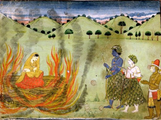 Agni Pariksha By Sita