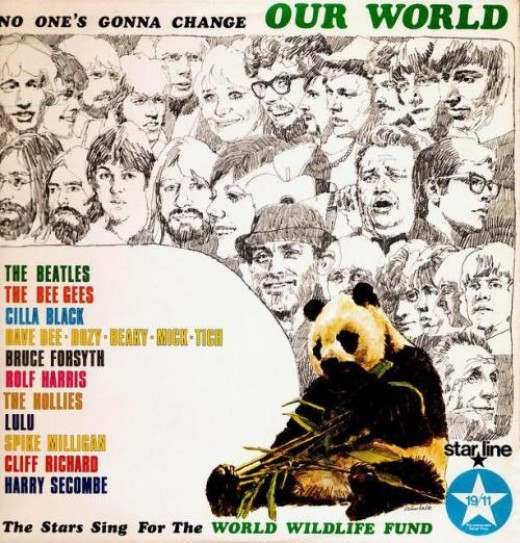 No One's Gonna Change Our World, Charity Album for The World Wildlife Fund