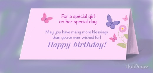 Birthday Wishes For A Baby Girl