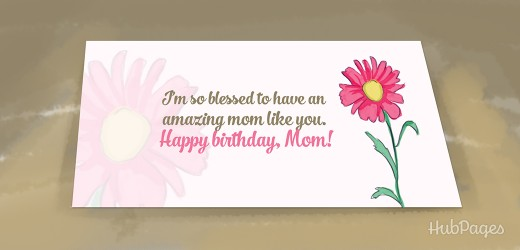 best th birthday wishes, messages, and quotes for mom  hubpages, Birthday card